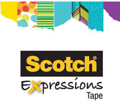 Scotch Expressions Tape free sample