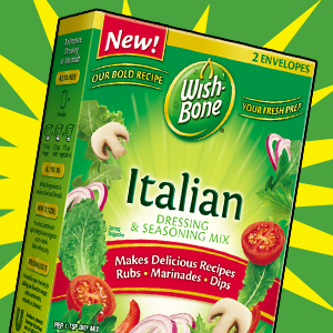 Wish-bone Dry Dressing coupon