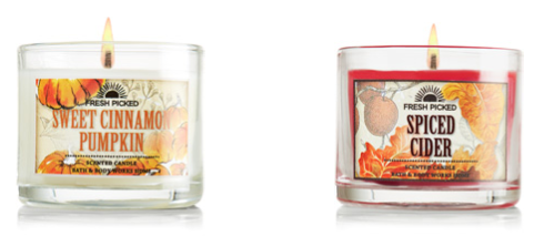 Bath and Body Works Mini Candle