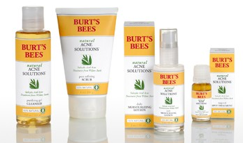 Burts Bees Natural Acne Solutions