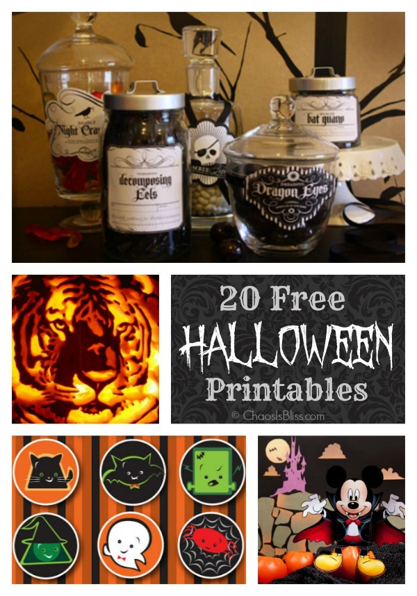 Halloween Printable Collage fina