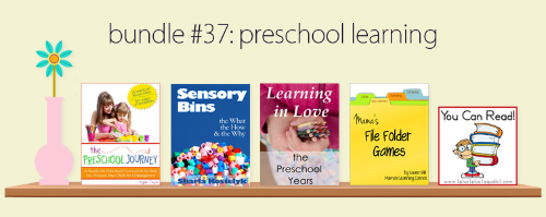 Preschool eBook bundle