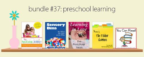 Preschool eBook bundle
