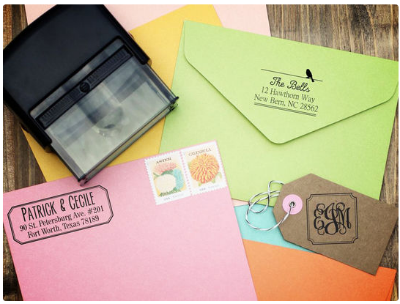 Self Inking Stamp Living Social
