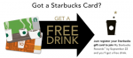 Starbucks Freebie
