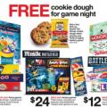 Target free cookie dough