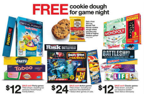 Target free cookie dough