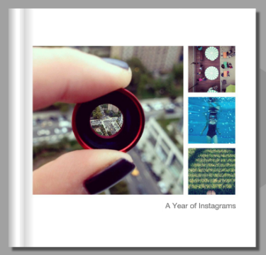 Blurb Instagram books