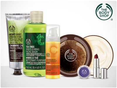 Body Shop Living Social deal