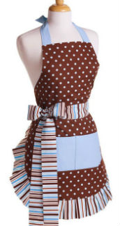 Flirty Aprons Blue Chocolate
