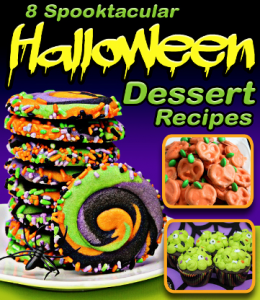 Halloween dessert ebook