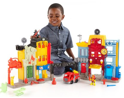 Imaginext Action Tech City