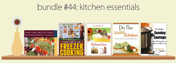 Kitchen Essentials ebook bundle