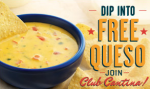 On the Border free queso