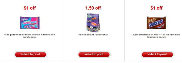 Target candy coupons