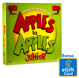 Apples to Apples Walmart Bonus