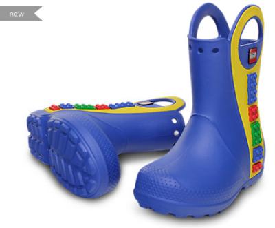 Crocs Lego Rain Boots