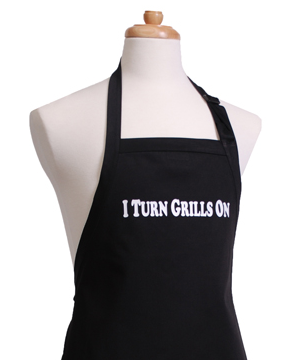 Flirty Aprons I Turn Grills On