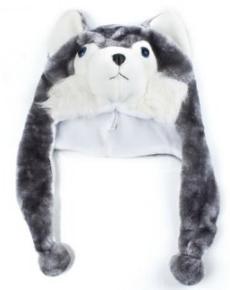 Husky wolf hat