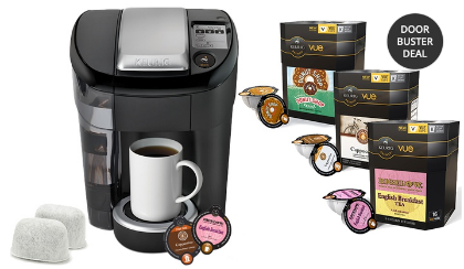 Keurig Vue Groupon | V500 Brewer Bundle $99.99 after Groupon + MIR