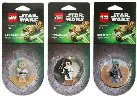Lego Star Wars magnets