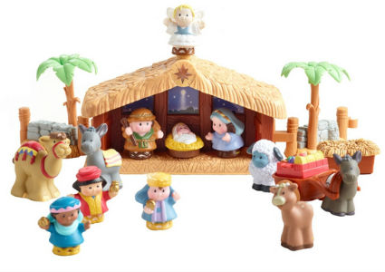 Little People Nativity Set Under $30
