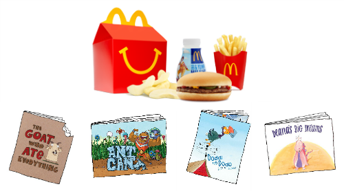 McDonalds Happy Meal Books