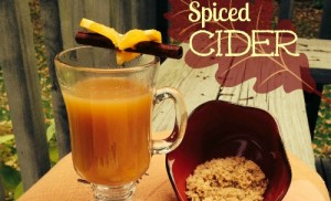 Spiced cider slider