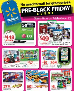 Walmart Pre-Black Friday