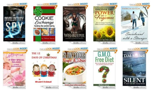 10 free Kindle books 12-5-13