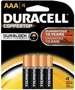 Duracell batteries coupon