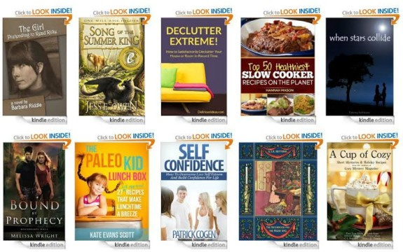 10 FREE Kindle Books | Declutter Extreme, Healthy Slow Cooker Recipes & More