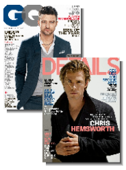 GQ Details Magazine bundle