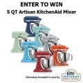 IFOF KitchenAid Mixer giveaway