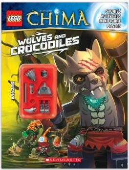 LEGO Legends of Chima Activity Book with Minifigure as low as $3.23 (reg $8.99)