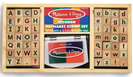 Melissa and Doug Stamp Set