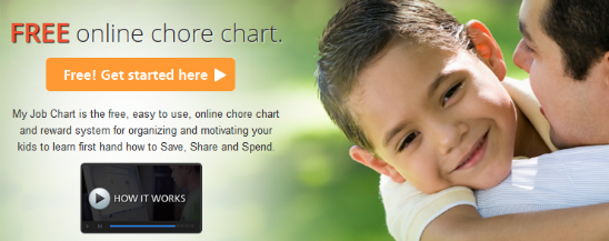 FREE Online Chore Chart for Kids – Earn Rewards for Doing Chores!