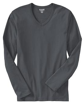 Old Navy Mens Long Sleeve Tee