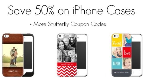 Shutterfly Coupon Codes | Save 50% on iPhone Cases + More