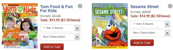 Yum for Kids Sesame Street