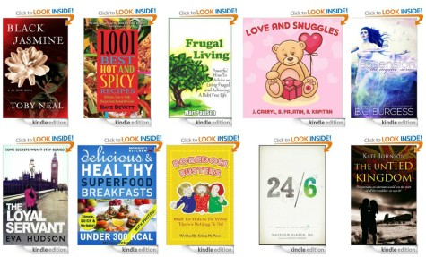 10 FREE Kindle Books: Superfood Breakfasts Under 300 Calories + More