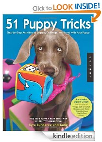 Amazon Kindle: 51 Puppy Tricks by Kyra Sundance $2.99 Today Only
