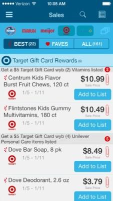 Favado Target gift card
