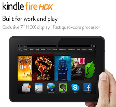Amazon Coupon Code: Save $30 on All Kindle Fire Tablets (HDX only $199!)