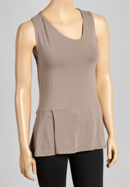 Pleated Yoga Tank