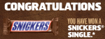 Snickers Super Bowl Giveaway