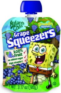 Squeezers grape
