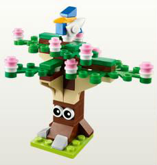 Lego Mini Build Spring Tree