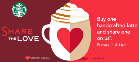 Starbucks Valentines Day