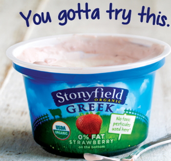 Stonyfield Greek Yogurt coupon